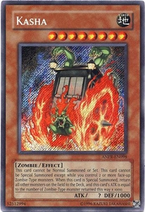 YuGiOh Ancient Prophecy Single Card Secret Rare ANPR-EN098 Kasha