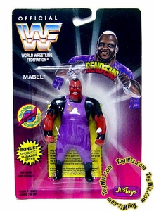 WWF / WWE Wrestling Superstars Bend-Ems Figure Series 1 Mabel