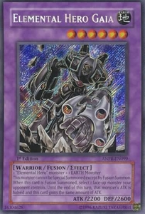 YuGiOh Ancient Prophecy Single Card Secret Rare ANPR-EN099 Elemental Hero Gaia