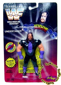 WWF / WWE Wrestling Superstars Bend-Ems Figure Series 1 The Undertaker