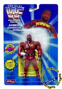 WWF / WWE Wrestling Superstars Bend-Ems Figure Series 3 Ahmed Johnson
