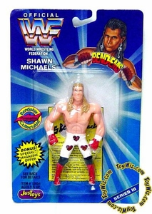 WWF / WWE Wrestling Superstars Bend-Ems Figure Series 3 Shawn Michaels