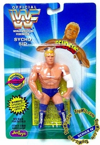 WWF / WWE Wrestling Superstars Bend-Ems Figure Series 4 Sycho Sid