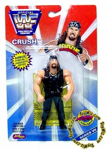 WWF / WWE Wrestling Superstars Bend-Ems Figure Series 7 Crush