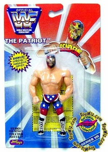 WWF / WWE Wrestling Superstars Bend-Ems Figure Series 7 The Patriot