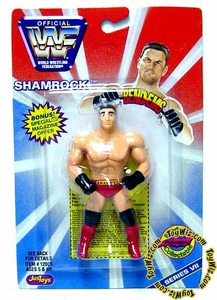 WWF / WWE Wrestling Superstars Bend-Ems Figure Series 7 Shamrock
