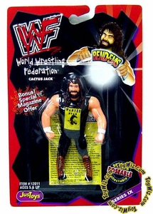 WWF / WWE Wrestling Superstars Bend-Ems Series 9 Action Figure Cactus Jack
