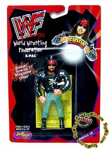 WWF / WWE Wrestling Superstars Bend-Ems Series 9 Action Figure X-Pac