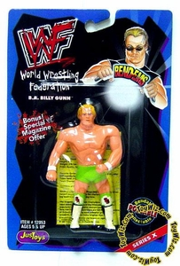 WWF / WWE Wrestling Superstars Bend-Ems Figure Series 10 Billy Gunn