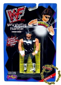 WWF / WWE Wrestling Superstars Bend-Ems Figure Series 10 Road Dogg