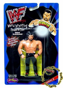 WWF / WWE Wrestling Superstars Bend-Ems Figure Series 10 Steve Blackman