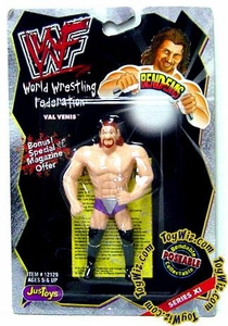 WWF / WWE Wrestling Superstars Bend-Ems Figure Series 11 Val Venis