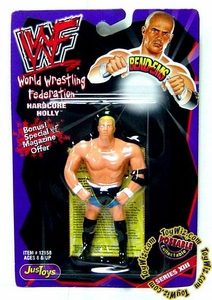 WWF / WWE Wrestling Superstars Bend-Ems Figure Series 13 Hardcore Holly