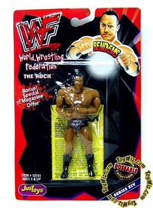WWF / WWE Wrestling Superstars Bend-Ems Figure Series 14 The Rock