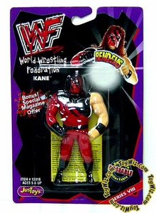 WWF / WWE Wrestling Superstars Bend-Ems Figure Series 8 Kane