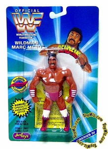 WWF / WWE Wrestling Superstars Bend-Ems Figure Series 4 Wildman Marc Mero
