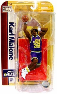 McFarlane Toys NBA Sports Picks Legends Series 5 Action Figure Karl Malone (Utah Jazz) Purple Jersey