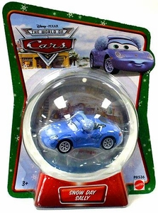Disney / Pixar CARS Movie 1:55 Die Cast Car Series 3 World of Cars Snow Day Sally