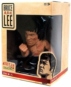 Round 5 Bruce Lee 5 Inch Titan Series 2 Figure Bruce Lee [Black Pants & Bare Chest with Scratches!]
