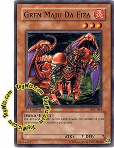 YuGiOh Invasion of Chaos Single Card Common IOC-024 Gren Maju Da Eiza