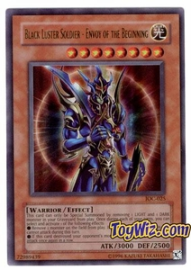 YuGiOh Invasion of Chaos Single Card Ultra Rare IOC-025 Black Luster Soldier - Envoy Of The Beginning