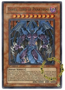 YuGiOh GX Shadow of Infinity Single Card Ultra Rare SOI-EN003 Raviel, Lord of Phantasms