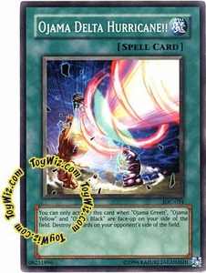 YuGiOh Invasion of Chaos Single Card Common IOC-034 Ojama Delta Hurricane!!
