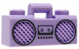 LEGO  LOOSE Accessory Purple Boom Box