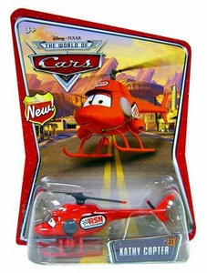 Disney / Pixar CARS Movie 1:55 Die Cast Car Series 3 World of Cars Kathy Copter