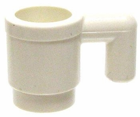 LEGO Accessory LOOSE Accessory White Mug