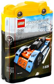 LEGO Racers Set #8193 Blue Bullet