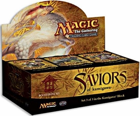 Magic the Gathering Saviors of Kamigawa Booster BOX [36 packs]
