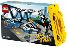 LEGO Racers Set #8197 Highway Chaos