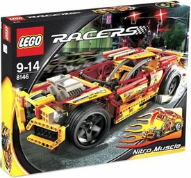 LEGO Racers Set #8146 Nitro Muscle