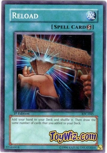 YuGiOh Invasion of Chaos Single Card Super Rare IOC-045 Reload