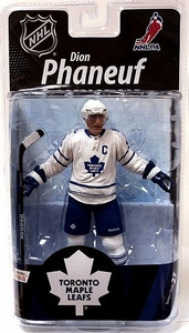 McFarlane Toys NHL Sports Picks Series 27 Action Figure Dion Phaneuf (Toronto Maple Leafs) White Jersey Bronze Collector Level Chase Only 2,000 Made!
