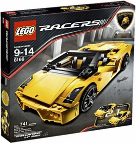 LEGO Racers Set #8169 Lamborghini Gallardo LP 560-4 [Yellow]