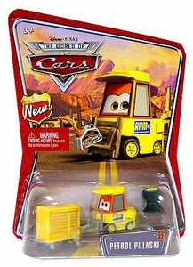 Disney / Pixar CARS Movie 1:55 Die Cast Car Series 3 World of Cars Petrol Pulaski [RPM Pitty]