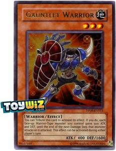 YuGiOh 5D's Duelist Pack Yusei Fudo Single Card Ultra Rare DP09-EN013 Gauntlet Warrior