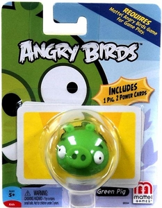 Mattel Angry Birds Mini Figure Green Pig
