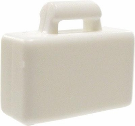 LEGO City LOOSE Accessory White Briefcase