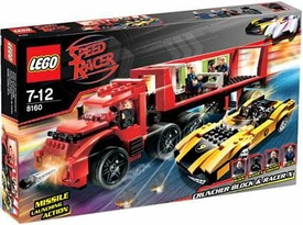 LEGO Speed Racer Set #8160 Cruncher Block & Racer X