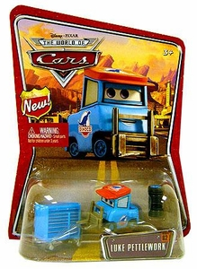 Disney / Pixar CARS Movie 1:55 Die Cast Car Series 3 World of Cars Luke Pettlework [Dinoco Pitty]