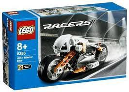 LEGO Racers Set #8355 H.O.T Blaster Bike
