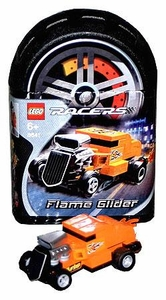 Lego Racers Tiny Turbos Set #8641 Flame Glider