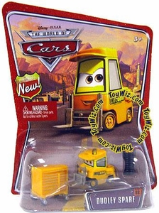 Disney / Pixar CARS Movie 1:55 Die Cast Car Series 3 World of Cars Dudley Spare [Octane Gain Pitty]