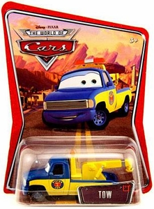 Disney / Pixar CARS Movie 1:55 Die Cast Car Series 3 World of Cars Tow [Race Crew Truck]