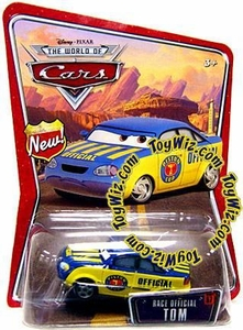 Disney / Pixar CARS Movie 1:55 Die Cast Car Series 3 World of Cars Race Official Tom