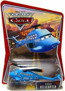 Disney / Pixar CARS Movie 1:55 Die Cast Car Series 3 World of Cars Dinoco Helicopter