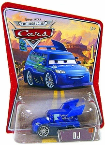 Disney / Pixar CARS Movie 1:55 Die Cast Car Series 3 World of Cars DJ
